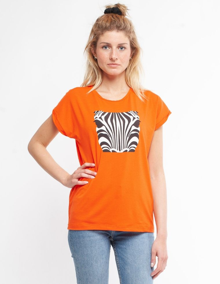 Organic T-Shirt in natural fiber Laura