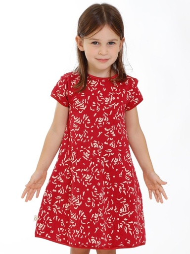 [KGDR008A862AW19PET]  Dress  Organic Cotton Minime