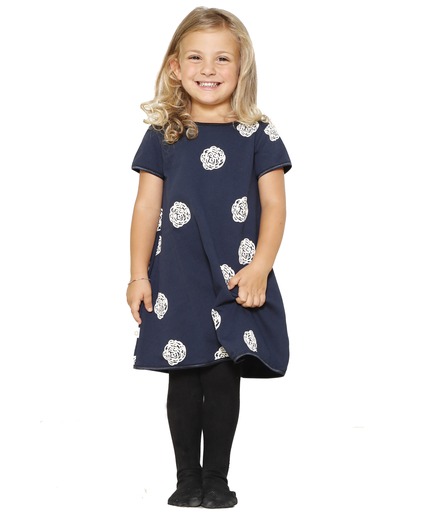 [KGDR008A116FW18BAL] Organic Cotton Dress Minime
