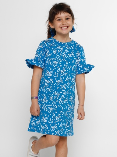 [KGDR013A120SS19000] Dress  Organic Cotton Lotti