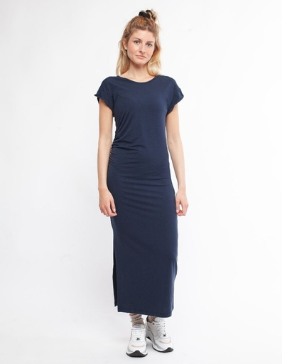 [WMDR018P267SS20000] Felicia Thight long dress in Tencel