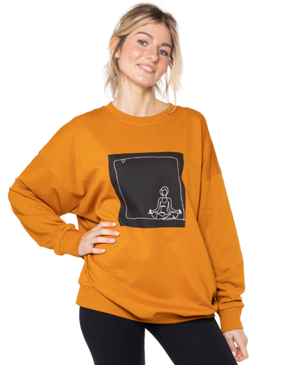 [WMSW004S163FW20YOG] Camilla Sweater Organic Cotton